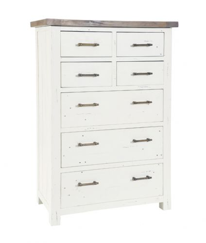Purbeck 4 Over 3 Drawer Tall Chest